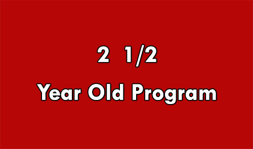 2 1/2 Year-Old Program